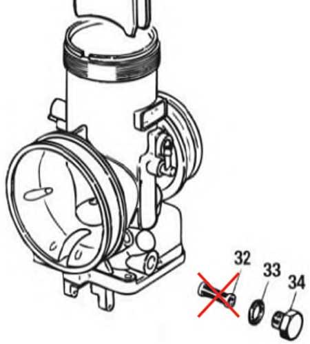 Dell'orto carburettor update (fuel filter)