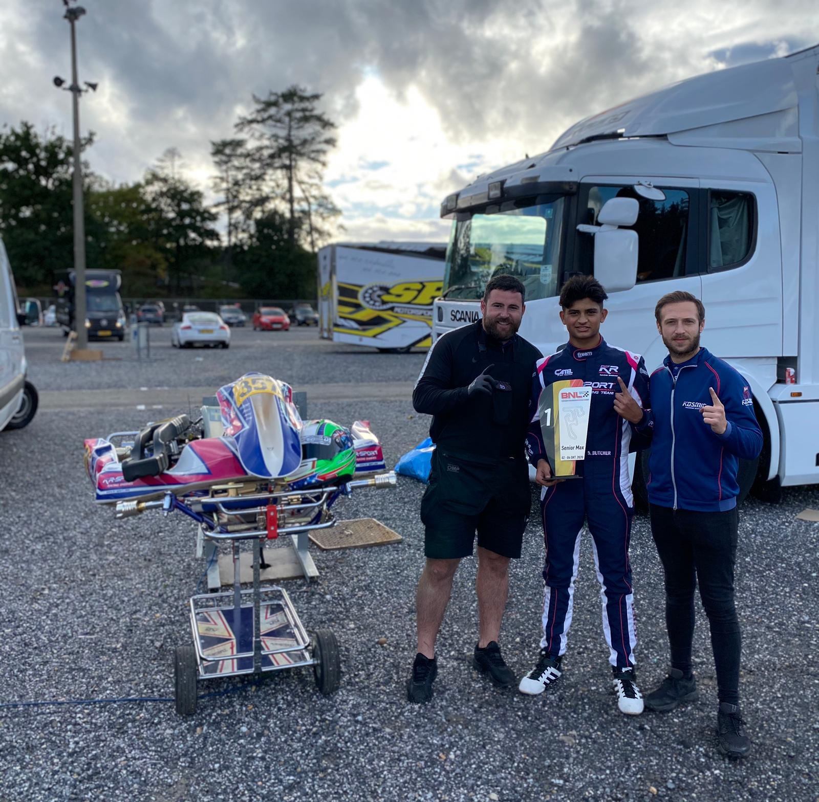 BNL Karting Series: Butcher brings home the bacon from Belgium!